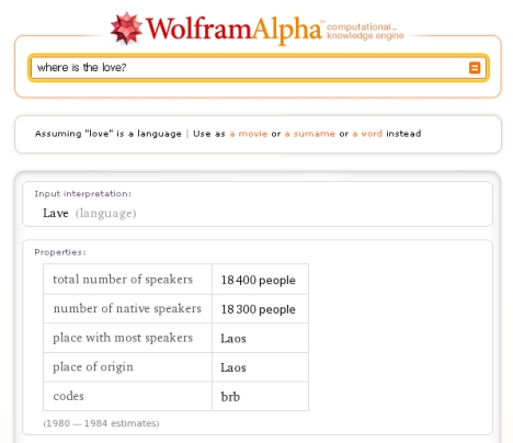wolfram_alpha_where_is_the_love